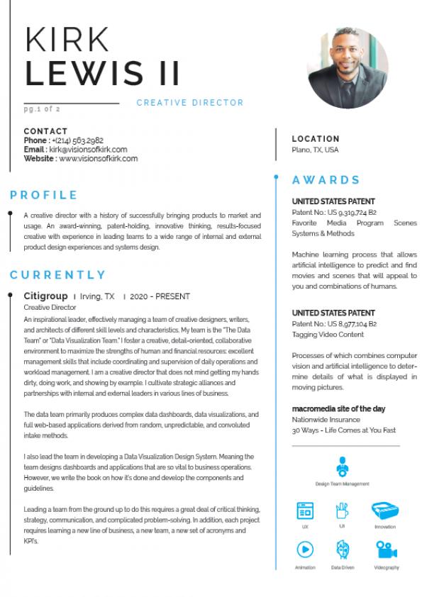 Resume 2021 v1 pg1